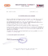 Buygues Certificate